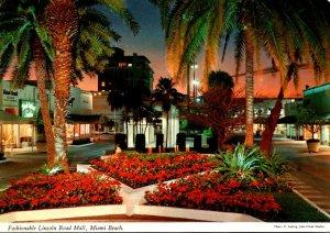 Florida Miami Beach Lincoln Road Mall