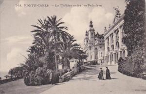 Monaco Monte Carlo Le Theate entre les Palmiers