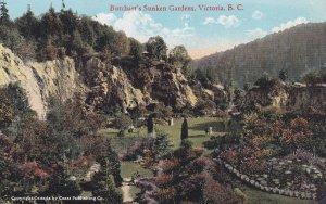 VICTORIA, British Columbia, Canada, 1900-1910's; Butchart's Sunken Gardens