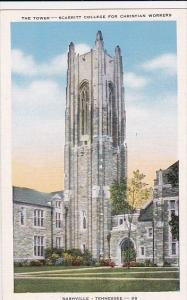 Tennesse Nashville The Tower Scarritt College For Christian Workers