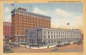 West Virginia Huntington United States Post Office Artvue 1943