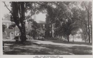 The Buttonwoods Lawn Haverhill Mass Postcard