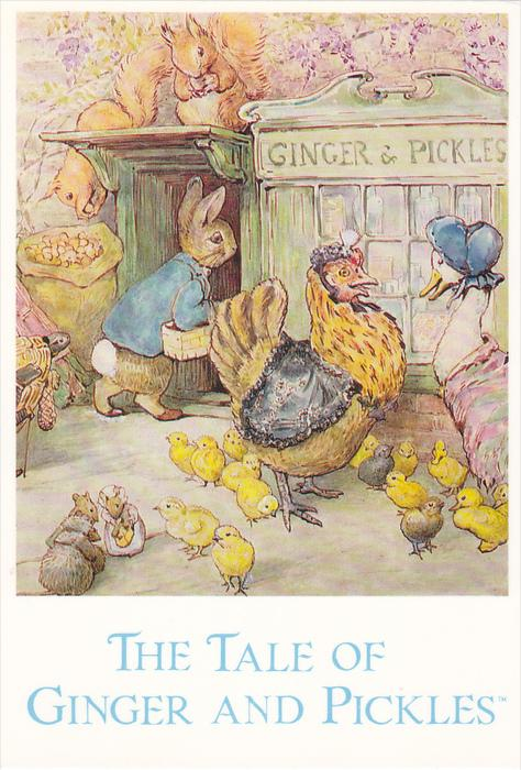 AS: The Tale of Ginger and Pickles, Beatrix Potter, 1992