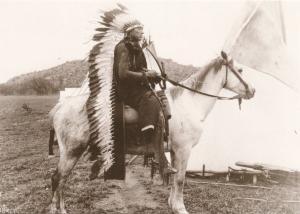 Quannah Parker - Comanche Indian War Chief - Western USA - Recent Print