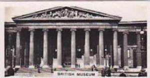 Carreras Vintage Cigarette Card Views Of London No 15 British Museum
