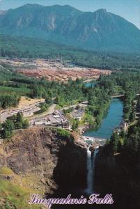 Washington Seattle Snoqualmie Falls