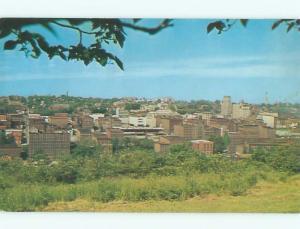 Pre-1980 AERIAL VIEW OF TOWN Lynchburg Virginia VA n2950