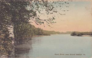 Rock River Near GRAN DETOUR, Illinois, 1900-1910s