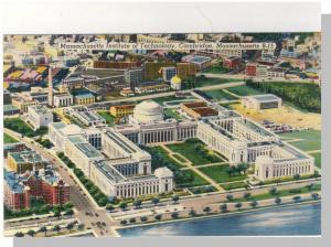 Cambridge, Mass/MA Postcard,Mass Institute Technology/Aerial