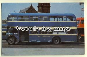 tm5491 - Leigh Corporation Bus to Manchester - postcard
