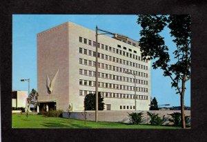 MI VA Veterans Administration Bldg. Detroit Michigan Postcard