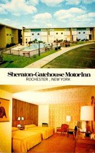 New York Rochester Sheraton-Gatehouse Motor Inn