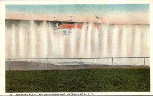 New York Catskill Mountains Ashokan Reservoir Aerating Plant 1922