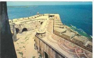 Aerial of El Morro / Spanish Fort,San Juan,Puerto Rico 1960-70s