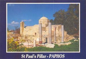 Cyprus St Paul's Pillar Ruins