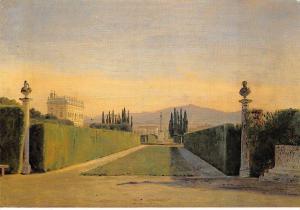 Constantin Hansen, Parti fra Villa Albanis, Garden Reprint