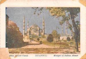 Mosque of Sultan Ahmet - Istanbul