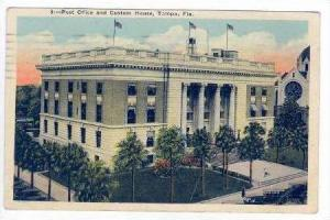 Post Office & Custom House, Tampa, Florida, PU-1928