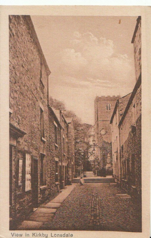 Cumbria Postcard - View in Kirkby - Lonsdale - Ref 19286A