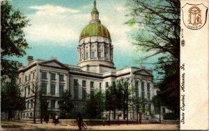 State Capitol in Atlanta GA Postcard 1908 - VINTAGE PC
