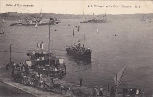 DINARD (Ille-et-Vilaine), France, PU-1910; Ships/Boats, Le Cale, L'Escadre