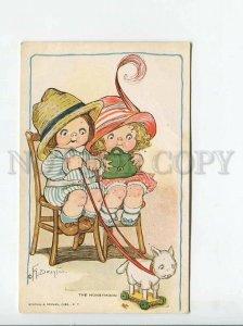 3176028 HONEYMOON Kids Play by DRAYTON Vintage R&N #505 PC