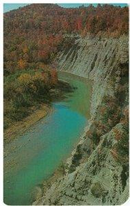 Postcard - Letchworth State Park, Genesee River Gorge, Castile, New York