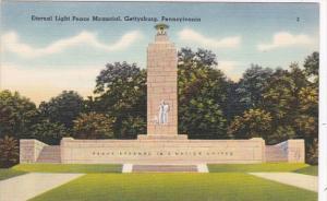 Pennsylvania Gettysburg Eternal Light Peace Memorial