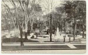 Fayette Park, Syracuse, New York, 1920-40s