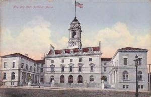 Maine Portland New City Hall 1913