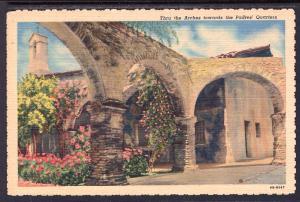 Arches,Mission San Juan Capistrano,CA