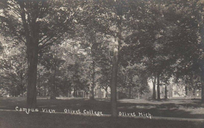 RP: OLIVET , Michigan , 1914 ; Campus View , Olivet College