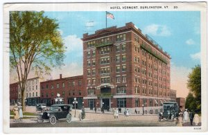 Burlington, Vt, Hotel Vermont