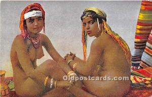 Arab Nude Postcard Beautes Mauresques Unused
