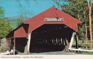 Jackson Covered Bridge JacksonWhite Mountains New Hampshire