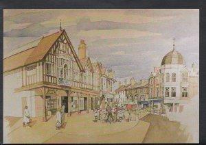 Northamptonshire Postcard - Market Street, Wellingborough   C1237