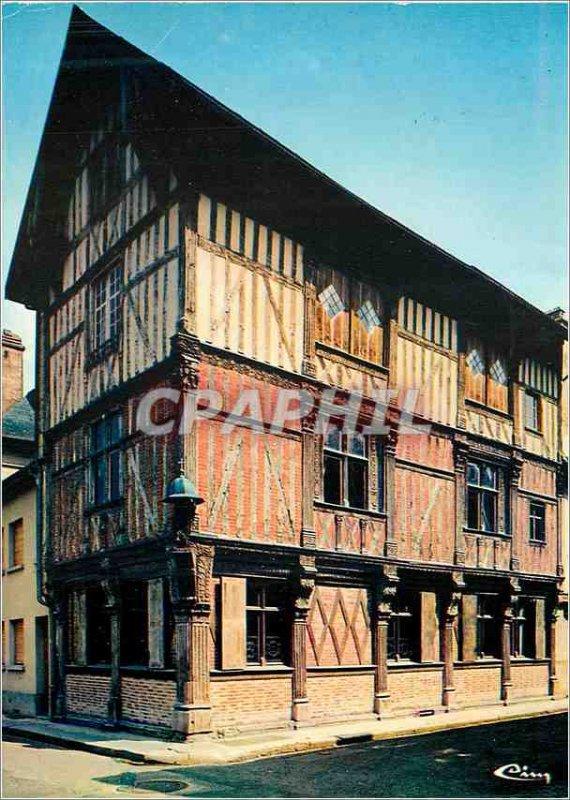 Modern Postcard Bar sur Seine (Aube) Renaissance House