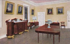 Tennessee Nashville Dining Room The Hermitage Home Of General Andrew Johnson