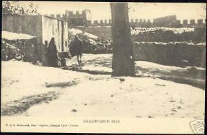 greece, SALONICA SALONIQUE, Panorama 1916