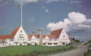 Main Lodge at Keltic, Cape Breton's famous summer resort at Ingonish,  N.S....