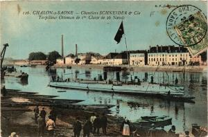 CPA Chalon-sur-Saone - Torpilleur Ottoman de 1re Classe de 26 Noeuds (638027)