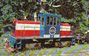 Warrenton Railroad's General Electric Locomotive No 1876 At Warren Plains Nor...