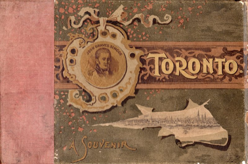 Toronto 1893 Hardback Photo Plate Victorian Travel Book