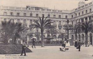 Plaza Real, Barcelona (Catalonia), Spain, 1910-1920s