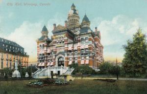 WINNIPEG , Manitoba, 1900-10s; City Hall #3