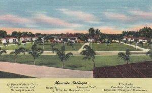 BRADENTON , Florida , 1930-40s ; Manatee Cottages