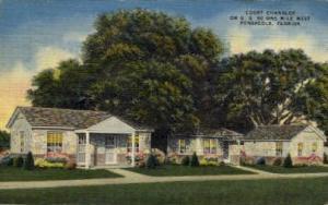 Court Chandler Pensacola FL 1953