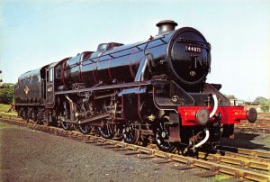 Train Postcard EX LMS Stanier Class 5 44871 Steam Loco Steamtown. Carnforth CL0