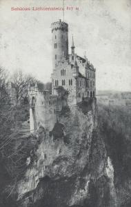 BADEN WURTTENBERG, Germany, 1900-10s: Schloss Lichtenstein # 2