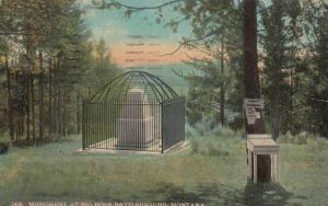 BIG HOLE Battleground , Montana, 1924 ; Monument